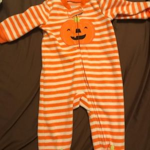 Halloween zipper pajamas